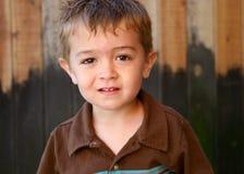 Muchacho joven lindo imagen de archivo