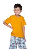 Muchacho joven lindo Imagen de archivo libre de regalías