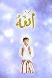 Muchacho joven musulmán fotos de archivo
