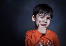 Muchacho joven sano Fotos de archivo