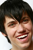 Muchacho joven sonriente Foto de archivo libre de regalías
