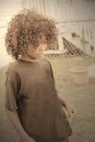 Muchacho joven triste Imagen de archivo libre de regalías