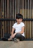 Muchacho lindo asiático Foto de archivo libre de regalías