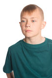 Muchacho lindo con un peinado de moda Foto de archivo libre de regalías