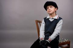 Muchacho lindo del adolescente Fotos de archivo