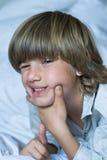Muchacho lindo joven Foto de archivo libre de regalías