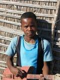 Muchacho malgache nativo imagen de archivo