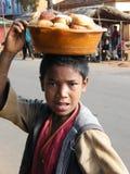 Muchacho malgache nativo foto de archivo libre de regalías