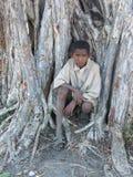 Muchacho nativo malgache foto de archivo libre de regalías