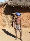 Muchacho nativo malgache imagen de archivo libre de regalías