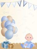 Muchacho recién nacido Fotos de archivo libres de regalías