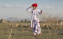 Muchacho rural Fotografía de archivo libre de regalías