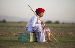 Muchacho rural Fotografía de archivo
