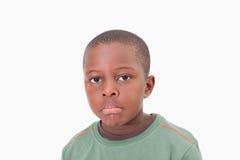 Muchacho solo joven Fotografía de archivo libre de regalías