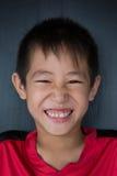 Muchacho sonriente Foto de archivo