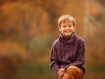 Muchacho sonriente Fotografía de archivo
