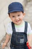 Muchacho sonriente lindo Fotos de archivo
