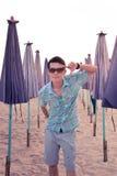 Muchacho tailandés del retrato Fotografía de archivo libre de regalías