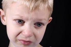 Muchacho triste Foto de archivo libre de regalías
