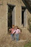 Muchacho y muchacha Foto de archivo
