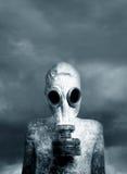 Muchacho y una máscara Foto de archivo libre de regalías