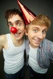 Muchachos absurdos Fotos de archivo libres de regalías