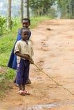 Muchachos africanos Imagen de archivo libre de regalías