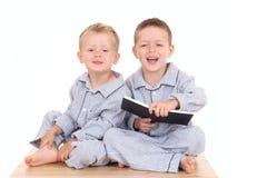 Muchachos de Pijama Fotografía de archivo
