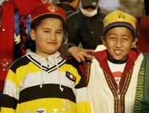 Muchachos de Tamang Foto de archivo libre de regalías