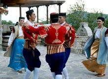 Muchachos del baile Foto de archivo
