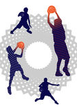Muchachos del baloncesto Fotos de archivo libres de regalías