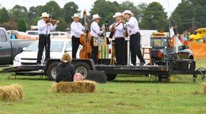 Muchachos del Bluegrass de Honeywind Foto de archivo libre de regalías