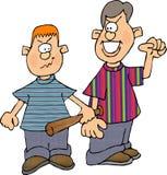 Muchachos del Bully stock de ilustración