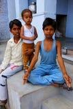Muchachos indios Fotografía de archivo
