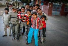 Muchachos paquistaníes Fotos de archivo