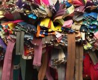 Muchas cremalleras Foto de archivo libre de regalías