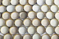 Muchas cubiertas del fondo de la cerveza Imagen de archivo libre de regalías