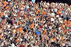 Muchas fans Foto de archivo