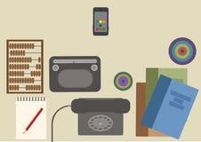 Muchas funciones llevan un teléfono móvil moderno Fotos de archivo
