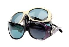 Muchas gafas de sol aislaron Imagen de archivo