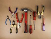 Muchas herramientas Imagen de archivo