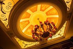 Lámparas en techo Fotografía de archivo