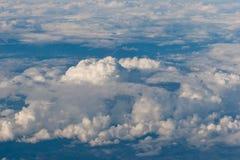 Muchas nubes Fotografía de archivo