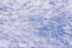 Muchas nubes Imagenes de archivo