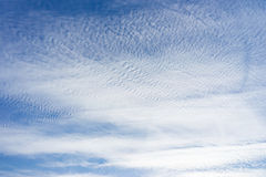 Muchas pequeñas nubes Fotografía de archivo libre de regalías