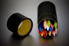 Muchas plumas coloridas Imagenes de archivo