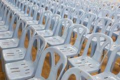 Muchas sillas Fotos de archivo libres de regalías