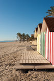 Muchavista beach, Costa Blanca Stock Photos