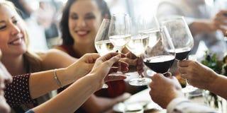 Muchedumbre bien escogida del brunch que cena las opciones de la comida que comen concepto Fotografía de archivo libre de regalías