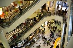 Muchedumbre de las compras Imágenes de archivo libres de regalías
